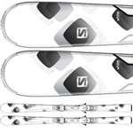 Salomon Pure White + L 10  13/14