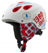 Alpina Grap Junior white-red