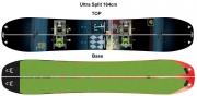 K2 Ultra Split Package incl. Bindung,Fell & Voilé Kit 14/15