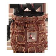 Red Chili Giant Chalk  Bag Fringe Red